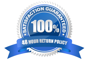 48 Hour Full Money Back Guarantee